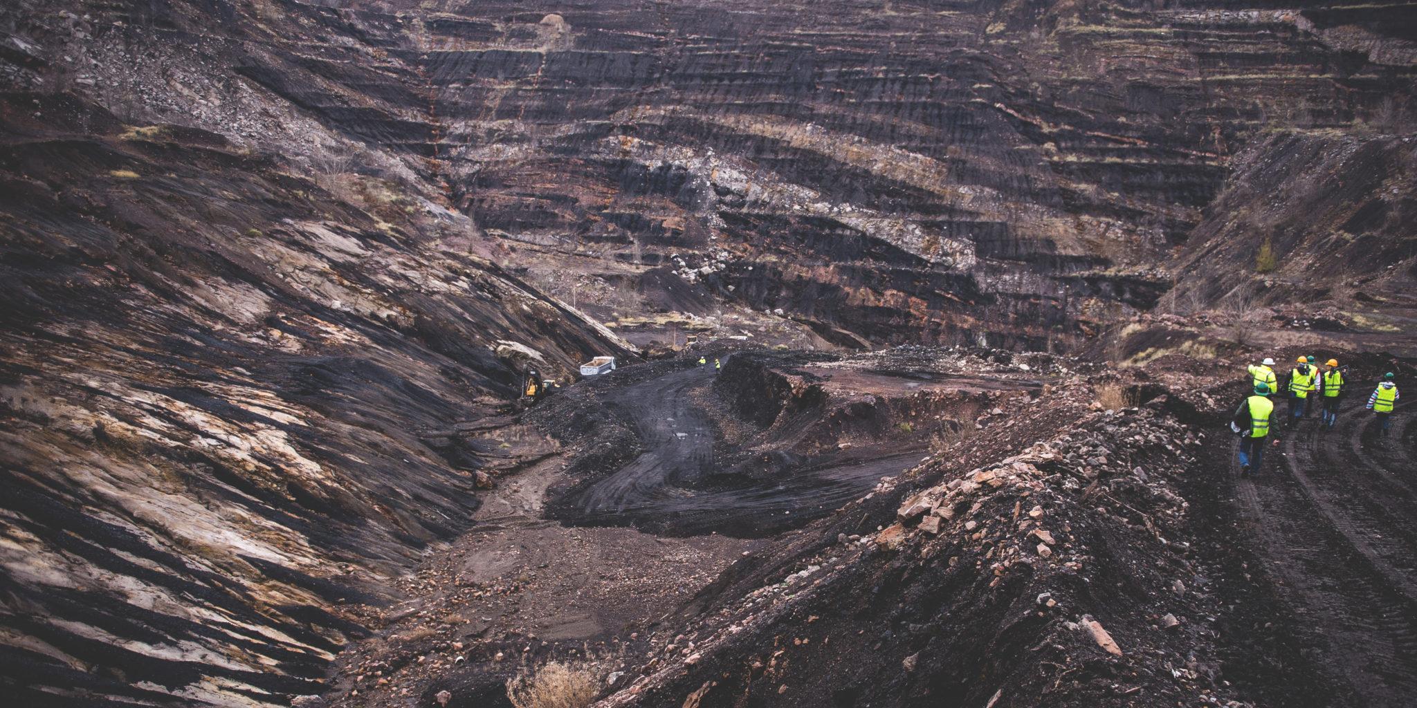 Coal mine in Hungary