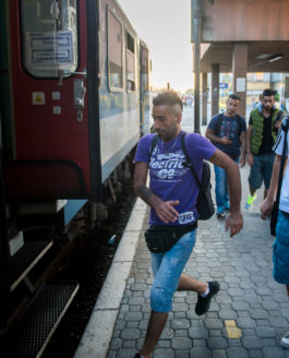 Refugees in the hungarian countryside