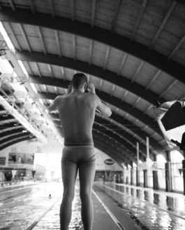 Hungarian swimmers underwater portrait photos – Behind the scenes