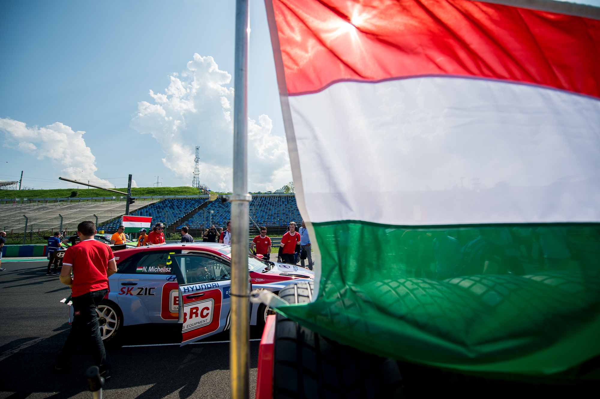 Norbert Michelisz at WTCR Race of Hungary